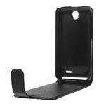Flipové Cover PU kožené pouzdro na HTC Desire 310- černé - 6/6