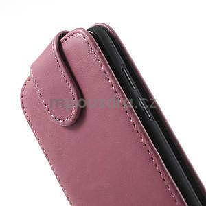 Flipové pouzdro pro HTC Desire 601- růžové - 6