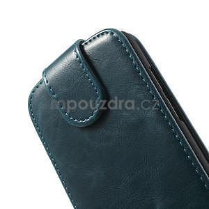 Flipové pouzdro pro HTC Desire 601- modré - 6