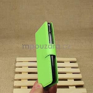 Peněženkové pouzdro pro HTC Desire 601- zelené - 6