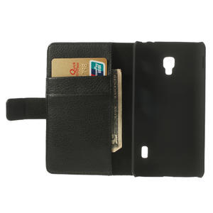 Peněženkové pouzdro na LG Optimus F6 D505- černé - 6