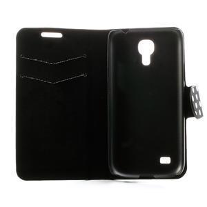 Peněženkové pouzdro na Samsung Galaxy S4 mini i9190- puntíkaté černé - 6