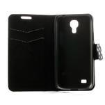 Peněženkové pouzdro na Samsung Galaxy S4 mini i9190- puntíkaté černé - 6/7