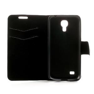 Peněženkové pouzdro na Samsung Galaxy S4 mini i9190- puntíkaté bílé - 6