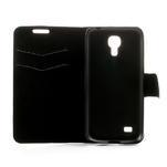 Peněženkové pouzdro na Samsung Galaxy S4 mini i9190- puntíkaté bílé - 6/7