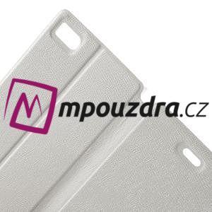 Peněženkové pouzdro na Xiaomi Mi3- bílé - 6