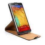 Flipové PU kožené pouzdro na Samsung Galaxy Note 3- černé - 6/7