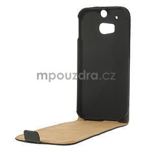 Flipové pouzdro pro HTC one M8- černé - 6