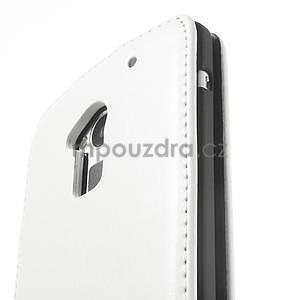 Flipové pouzdro HTC one Max- bílé - 6