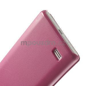 Flipové pouzdro pro LG Optimus L9 P760- růžové - 6