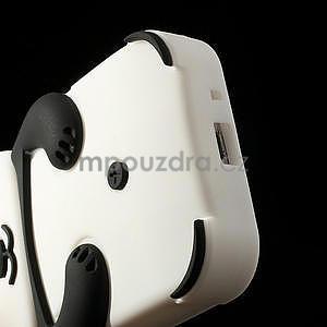 3D Silikonové pouzdro pro Samsung Galaxy S3 mini / i8190 - vzor černá panda - 6