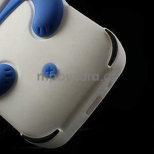 3D Silikonové pouzdro pro Samsung Galaxy S3 mini / i8190 - vzor modrá panda - 6