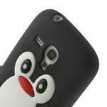 Silikonový TUČŃÁK pouzdro na Samsung Galaxy S3 mini i8190- černý - 6/7