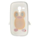 Silikonový TUČŃÁK pouzdro na Samsung Galaxy S3 mini i8190- bílý - 6/7