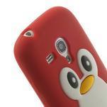 Silikonový TUČŃÁK pouzdro na Samsung Galaxy S3 mini i8190- červený - 6/7