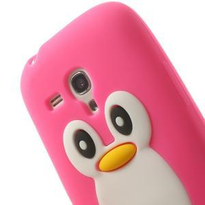 Silikonový TUČŃÁK pouzdro na Samsung Galaxy S3 mini i8190- růžový - 6