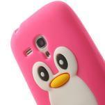 Silikonový TUČŃÁK pouzdro na Samsung Galaxy S3 mini i8190- růžový - 6/7