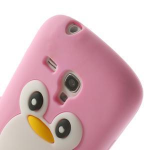 Silikonový TUČŃÁK pouzdro na Samsung Galaxy S3 mini i8190- světlerůžový - 6