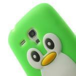 Silikonový TUČŃÁK pouzdro na Samsung Galaxy S3 mini i8190- zelený - 6/7