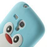 Silikonový TUČŃÁK pouzdro na Samsung Galaxy S3 mini i8190- světlemodrý - 6/7