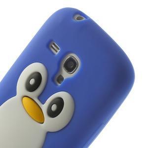 Silikonový TUČŃÁK pouzdro na Samsung Galaxy S3 mini i8190- modrý - 6