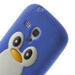 Silikonový TUČŃÁK pouzdro na Samsung Galaxy S3 mini i8190- modrý - 6/7