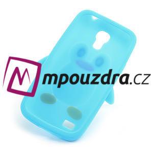 Silikon 3D TUČŇÁK pro Samsung Galaxy S4 mini i9190- světlemodrý - 6