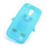 Silikon 3D TUČŇÁK pro Samsung Galaxy S4 mini i9190- světlemodrý - 6/6