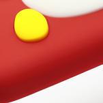 Silikonový Tučňák pouzdro pro Samsung Galaxy S4 i9500- červený - 6/7