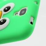 Silikonový Tučňák pouzdro pro Samsung Galaxy S4 i9500- zelený - 6/6