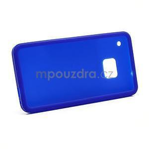 Silikonové pouzdro pro HTC one M7- modré - 6