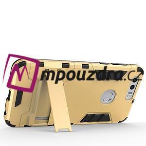 Outdoor odolný obal na mobil Honor 8 - zlatý - 6
