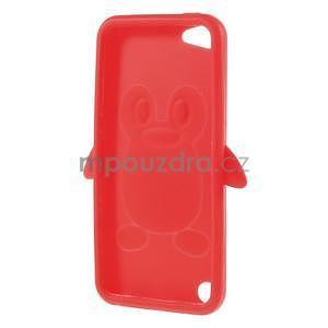 Penguin silikonový obal na iPod Touch 6 / iPod Touch 5 - červený - 6
