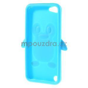 Penguin silikonový obal na iPod Touch 6 / iPod Touch 5 - světle modrý - 6
