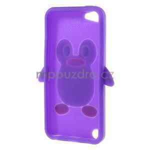 Penguin silikonový obal na iPod Touch 6 / iPod Touch 5 - fialový - 6