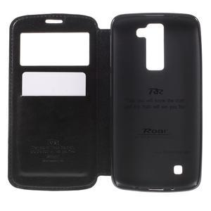 Richi PU kožené pouzdro na mobil LG K8 - černé - 6