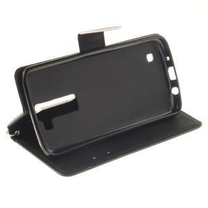 Style PU kožené pouzdro na LG K8 - nešahat - 6