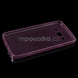 Slim obal na Samsung Galaxy A3 - růžové - 6