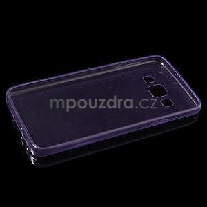Slim obal na Samsung Galaxy A3 - fialové - 6