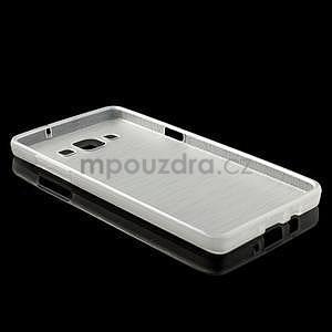 Broušený gelový obal Samsung Galaxy A5 - bílý - 6
