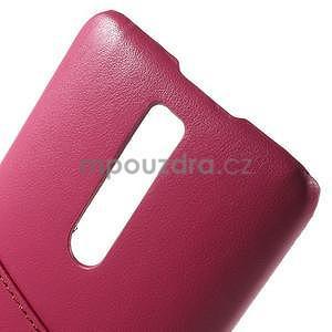 Rose PU kožený/plastový kryt na Asus Zenfone 2 ZE551ML - 6