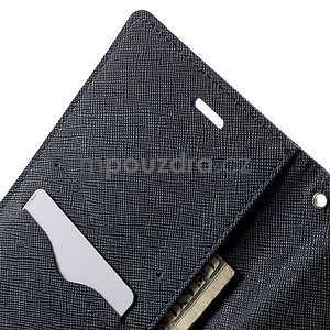 Zapínací PU kožené pouzdro na Asus Zenfone 2 ZE551ML - fialové - 6