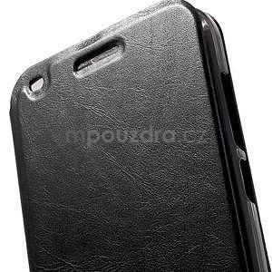 Klopové pouzdro na Huawei Ascend G7 - černé - 6