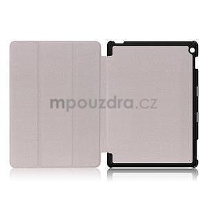 Emotive polohovatelné pouzdro na Huawei MediaPad M3 Lite 10 - barevné čtverečky - 6