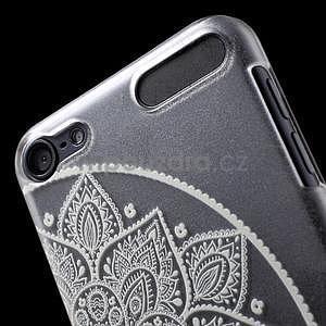 Plastový obal pro iPod Touch 5 - půlkruh mandala - 6