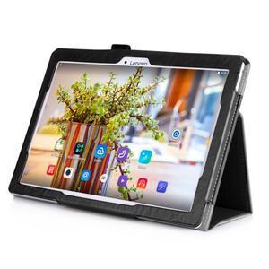 Safe PU kožené pouzdro na Lenovo Tab 3 10 Plus / Business - černé - 6