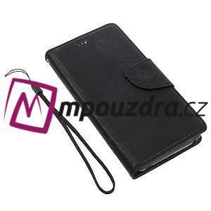 Butterfly knížkové pouzdro na mobil Lenovo Vibe C A2020 - černé - 6