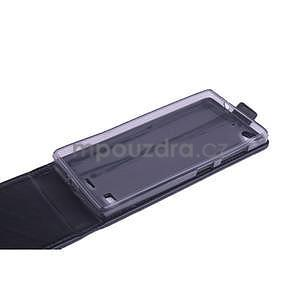 Flipové pouzdro na mobil Lenovo Vibe X2 - černé - 6