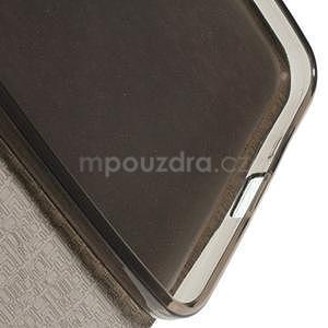 Tmavě modré klopové pouzdro pro Microsot Lumia 640 XL - 6