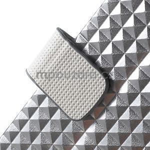 Cool Style pouzdro na iPhone 5 a iPhone 5s - stříbrné - 6